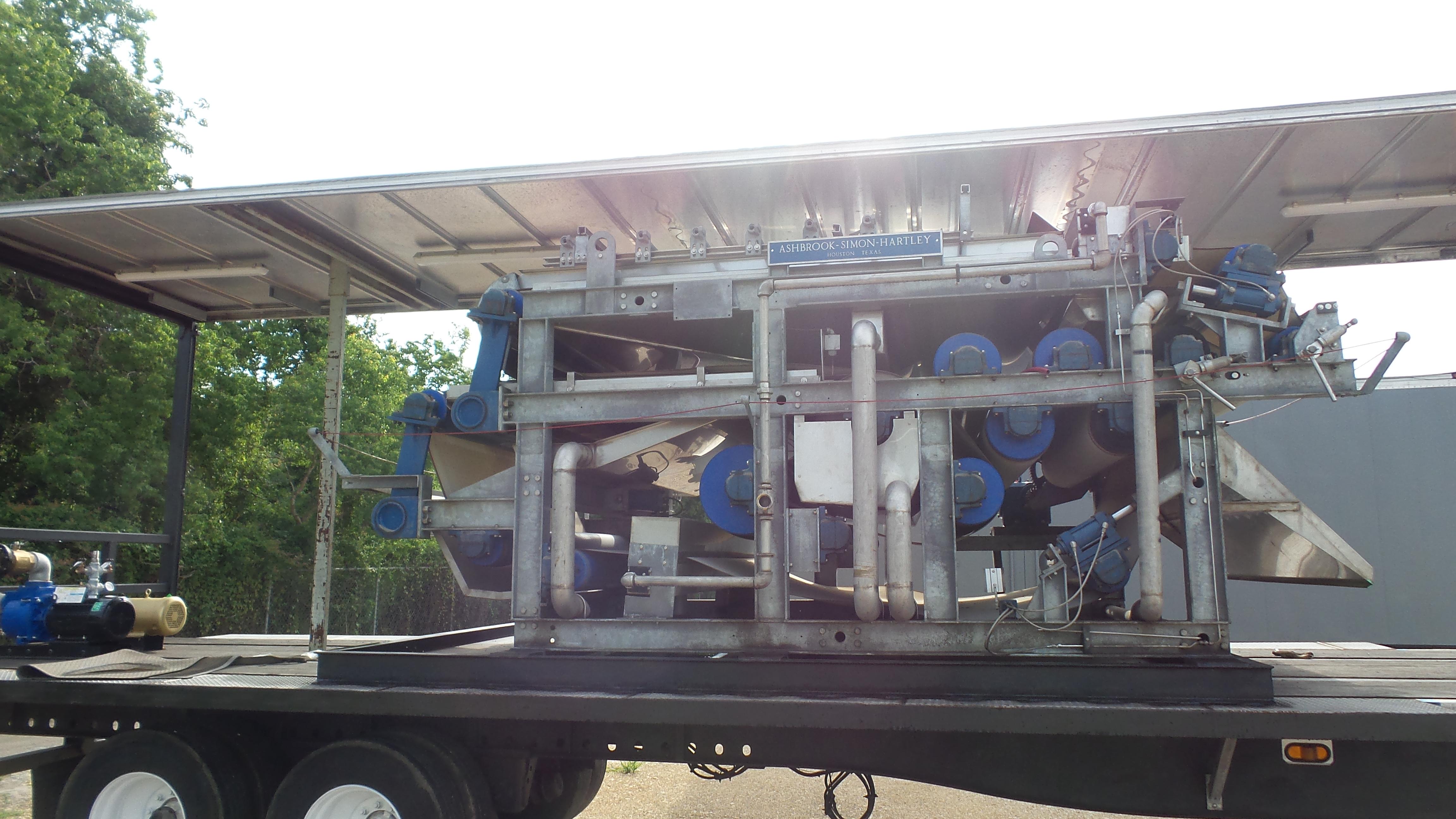 Dewatering Equipment Rental - Belt Press Rental - Aspen Rentals